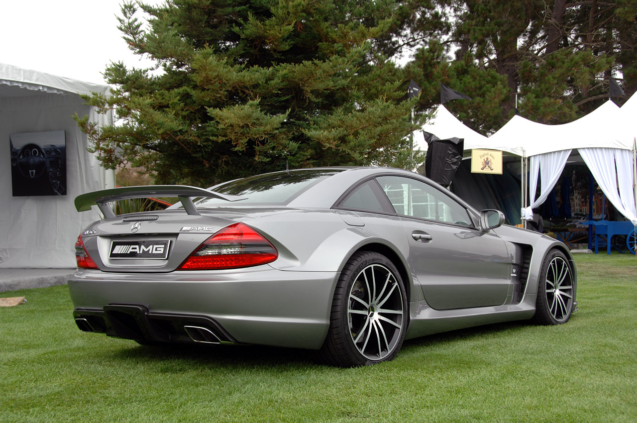 Live pictures of the mercedes benz sl65 amg black series for Mercedes benz sl65