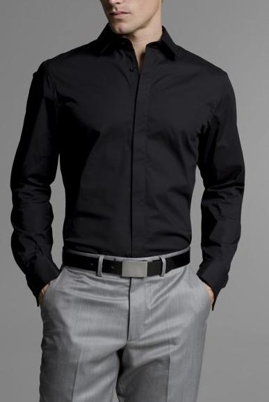 fitted-shirt-solid-with-covered-placket-express