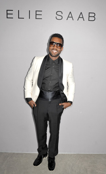 kayne-west-at-elie-saab-fashion-show