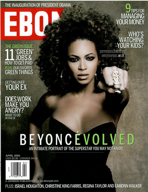 In the issue she speaks on everything from her relationship with Jay-Z to