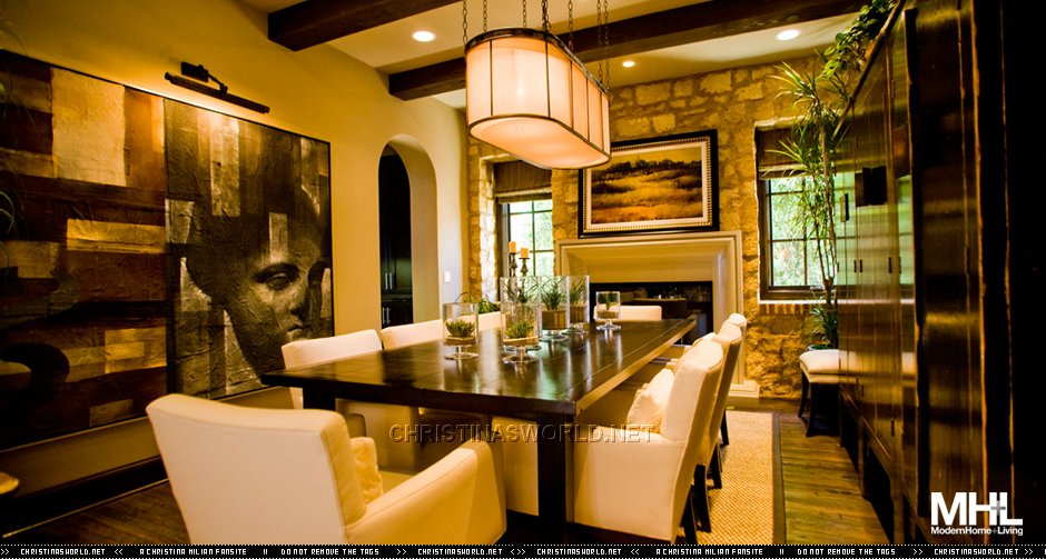 Christina milian home modern home living magazine 2 for Home living magazines