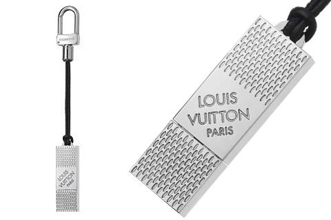 Louis-Vuitton-Damier-Graphite-USB-Drive