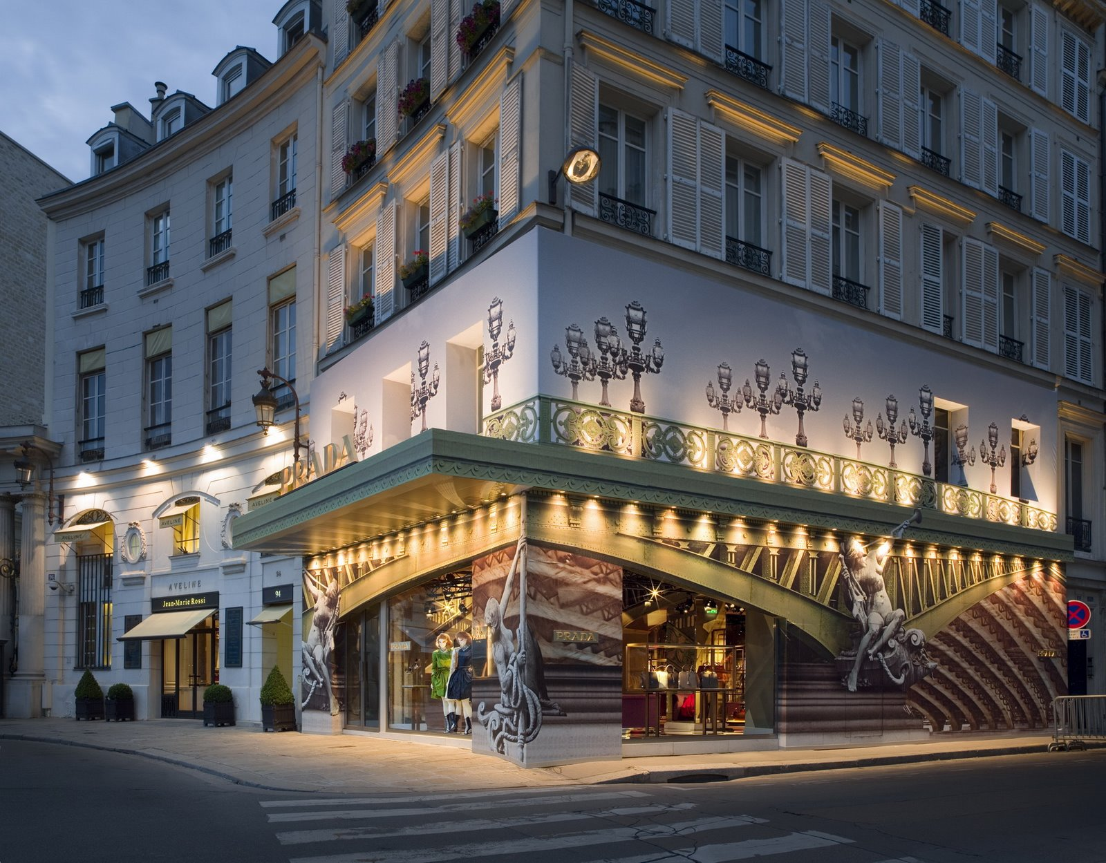 A Prada Temporary Store In Paris 01