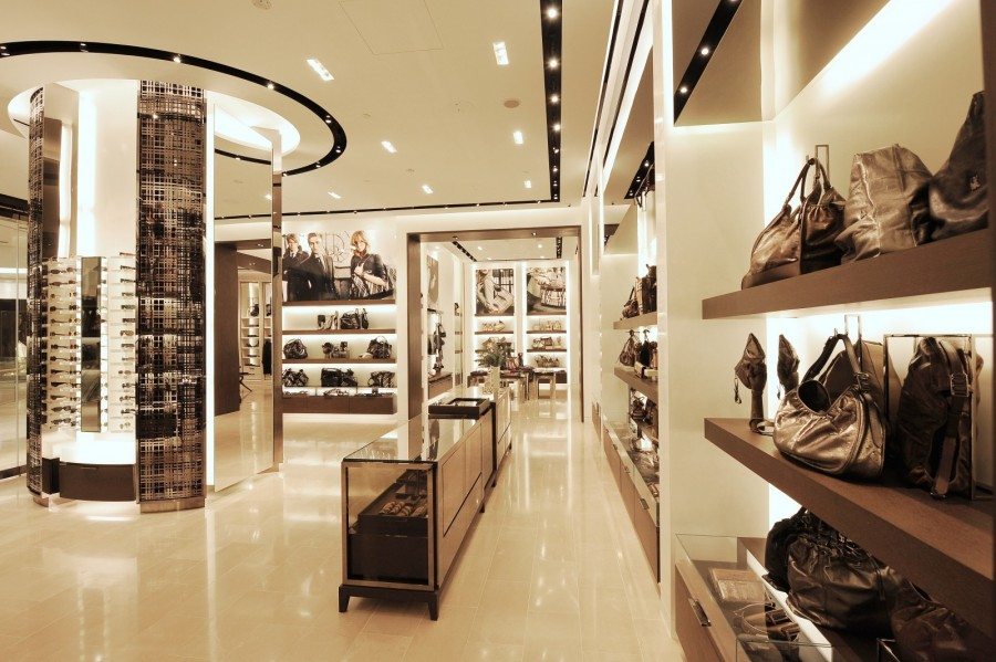 Burberry opens new store in Singapore 01