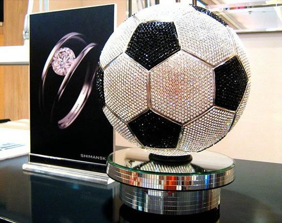 b54fed6c573f The World s Most Expensive Soccer Ball