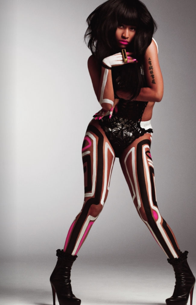 Nicki Minaj Covers V Magazine